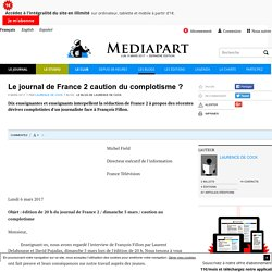 Le journal de France 2 caution du complotisme ?