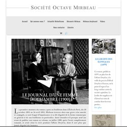 Le journal d'une femme de chambre (1900) - Société Octave Mirbeau