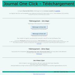 Journal One Click - Téléchargement