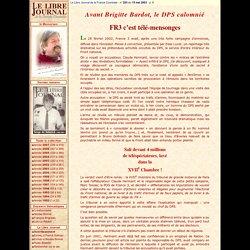 Le Libre Journal de la France Courtoise - Serge de Beketch
