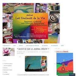 * Qu'est-ce que le Journal Créatif ?