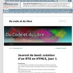 Journal de bord: création d'un RTS en HTML5, jour 1