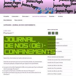 Production croisée des collèges Valmy, Montgolfier et Jean Moulin et l'association Jeunes Pages