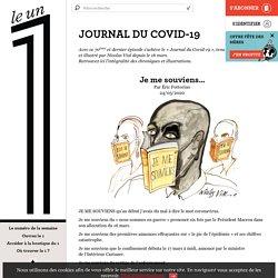 Le 1: Journal du covid-19