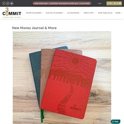 New Money Journal to Find Finacial Health & Freedom - Commit30