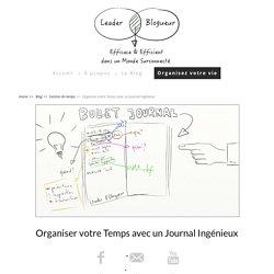 Le Bullet Journal Français pour s'organiser au travail