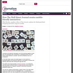 How The Wall Street Journal creates mobile-friendly interactives