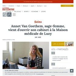 Le Journal du Centre - Luzy (58170) - Annet Van Goethem, sage-femme, vient d'ouvrir son cabinet à la Maison médicale de Luzy