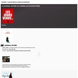 Le journal intime au cinéma (ou autofiction), liste de 40 films