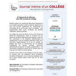 Journal Intime d'un collège