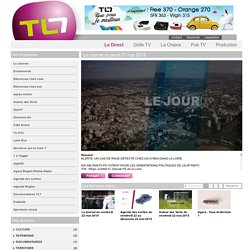 Le journal du jeudi 21 mai 2015 sur TL7 (vers 12 min 53 s)