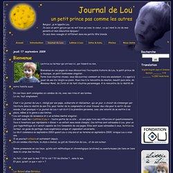 Journal de Lou - un petit prince pas comme les autres