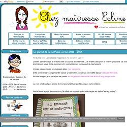 Le journal de la maîtresse version 2013 - 2014 - Chez maîtresse Ecline