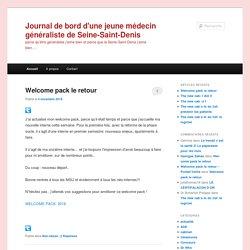 Journal de bord d'une jeune médecin généraliste de Seine-Saint-Denis | parce qu'être généraliste j'aime bien et parce que la Seine-Saint-Denis j'aime bien….