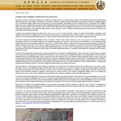 Spolia - Journal of medieval studies: Un dipinto unico in Sardegna