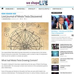 Lost Journal of Nikola Tesla Discovered