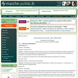 Journal officiel du 20 avril 2007 - NOR : CTNX0710138K