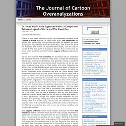 The Journal of Cartoon Overanalyzations