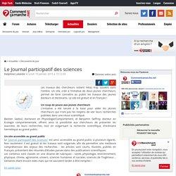Le Journal participatif des sciences