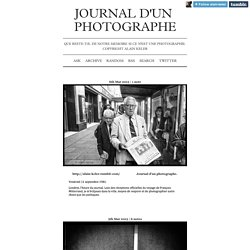 Journal d'un photographe