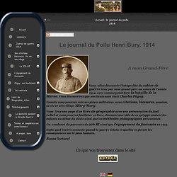 Journal du Poilu Henri Bury