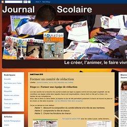 Journal scolaire: Former un comité de rédaction
