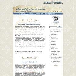 Journal du siège de Québec