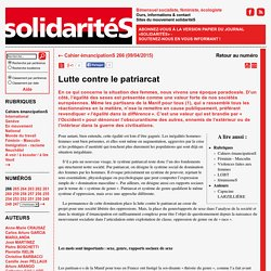 Journal solidaritéS