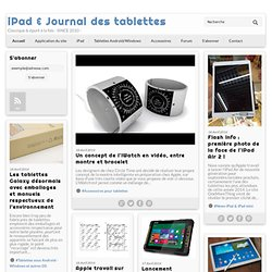 Le iPad Journal news