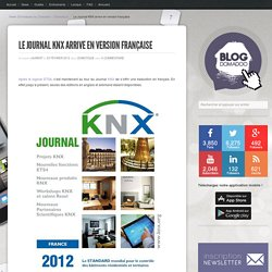Le Journal KNX arrive en version française