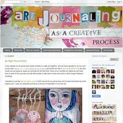 art journaling as a creative process