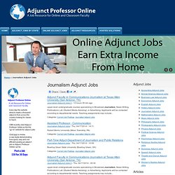 Religious Studies Adjunct Jobs | Adjunct Professor Online