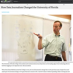 How Data Journalism Changed the University of Florida