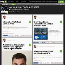 Journalism, code and data
