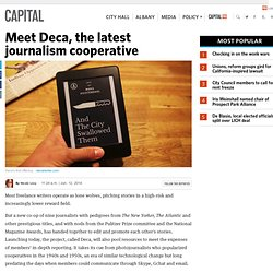 Meet Deca, the latest journalism cooperative