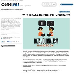 Why is Data Journalism Important?