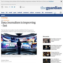 Data Journalism is improving – fast
