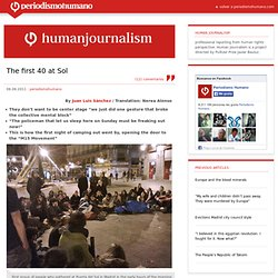 Human Journalism – best articles from periodismohumano.com » The first 40 at Sol