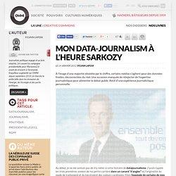 Mon data-journalism à l'heure Sarkozy