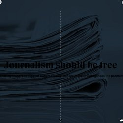 Journalism should be free