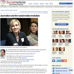 Journalism and the social media revolution