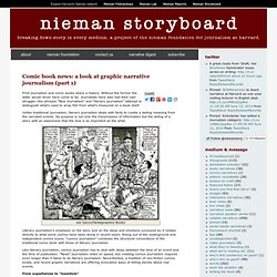 Comic book news: a look at graphic narrative journalism (part 1)