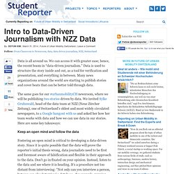 Intro to Data-Driven Journalism with NZZ Data | Student Reporter