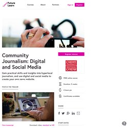 Community Journalism — Cardiff University