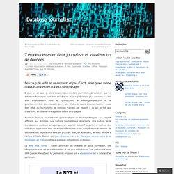 7 études de cas en data journalism et visualisation de données