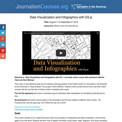 Data Visualization and Infographics with D3.js - Knight Center JournalismCourses.org