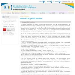 Marseille : EJCAM (pu)