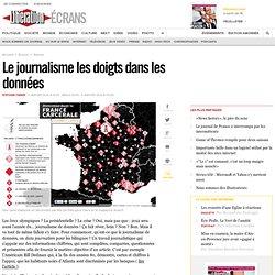 Le journalisme les doigts dans les données