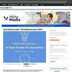 Journalisme web : 10 tendances pour 2015