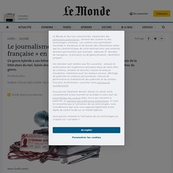 Le journalisme littéraire, une «passion française» en pleine vitalité
